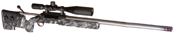 custom long range 375 chy-tac rifle