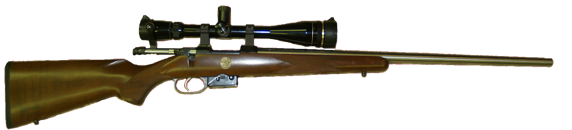 varmint and prairie dog hunting rifle in 19 calhon