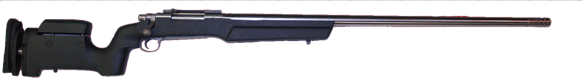 custom long range 338rum remington 700 rifle