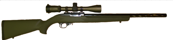 varmint and prairie dog hunting rifle in 22lr
