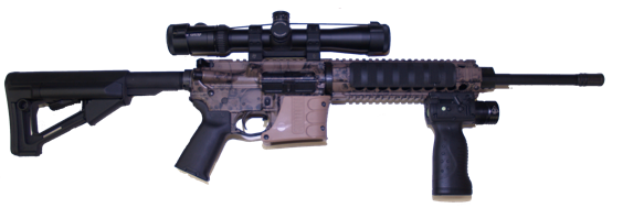 custom built ar15 223