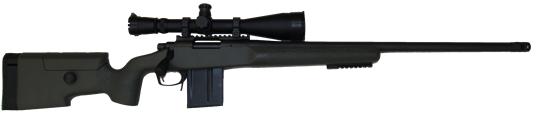 custom long range 308 remington 700