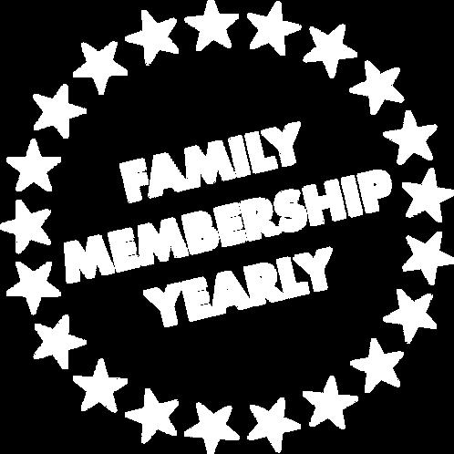 EARLY BIRD - Family Membership, Yearly