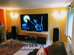 BeoVision Avant 85 with BeoLab 50