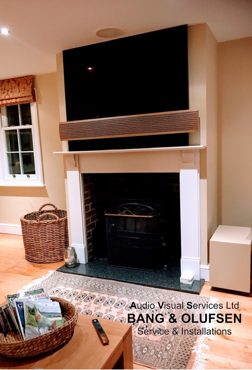 BeoVision Eclipse FirePlace