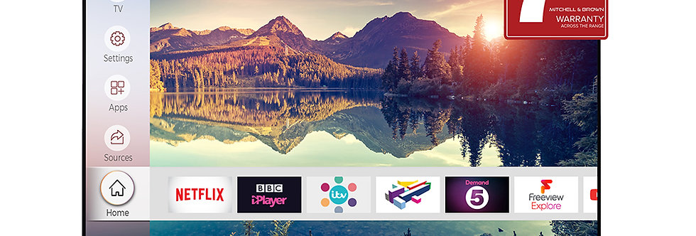 "Mitchell & Brown 4K Ultra HD Smart 55"" TV"