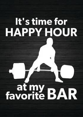 HAPPY HOUR AT THE HUT