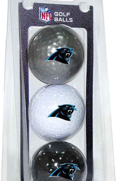 Carolina Panthers Golf Balls 3 Pack