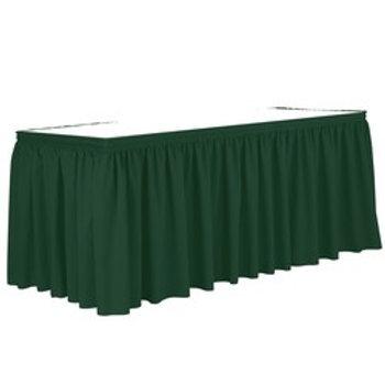 Non-Printed Shirred Table Skirt