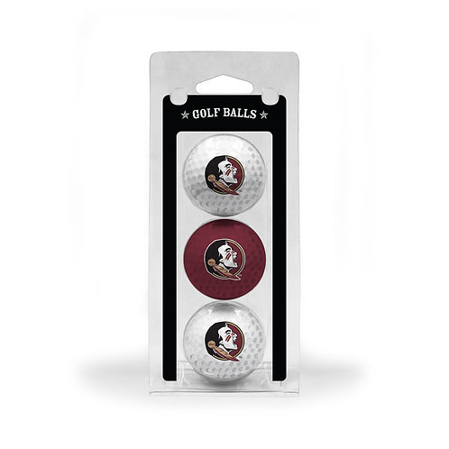 Florida State Seminoles Golf Balls 3 Pack