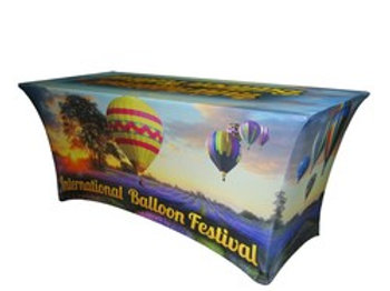 Full Color Spandex Table Cover