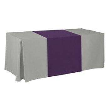 Non-Printed / Blank Table Runner - Poly Poplin