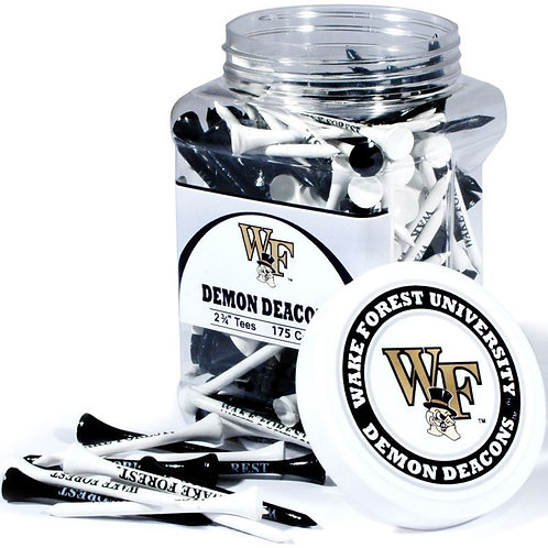 Wake Forest Demon Deacons Golf 50 Tee Pack