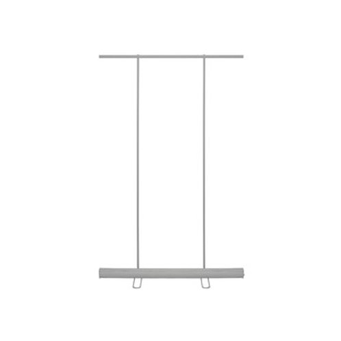 "Retractable Banner Stand - 58""W x 79""H"