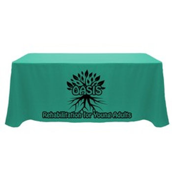 1 Color Screen Printed Table Throw