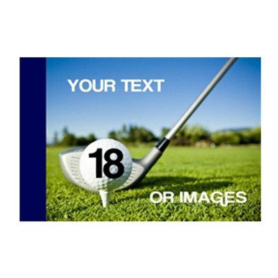 Golf Ball & Club Golf Pin Flag