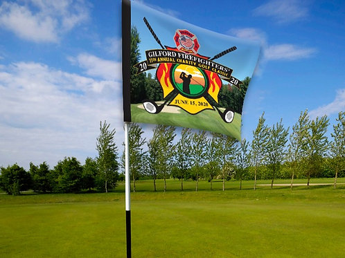 Fire Fighters Golf Flags