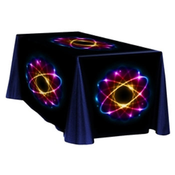 Fully Dye Sublimated Deluxe Table Throw