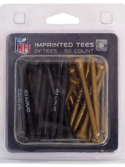 New Orleans Saints Golf 50 Tee Pack