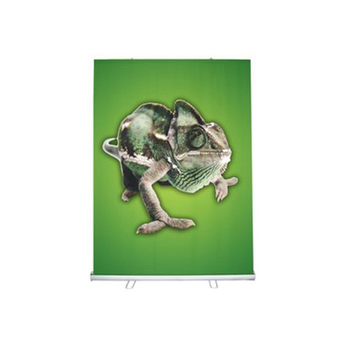 "58""W x 79""H Retractable Banner & Stand Set"