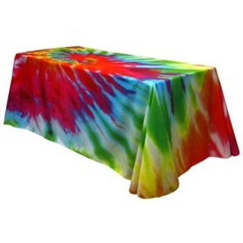 Fully Dye Sublimated Table Throw