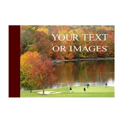 Fall Foliage Golf Pin Flag