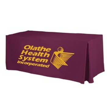 1 Color Screen Printed Fitted Table Cover