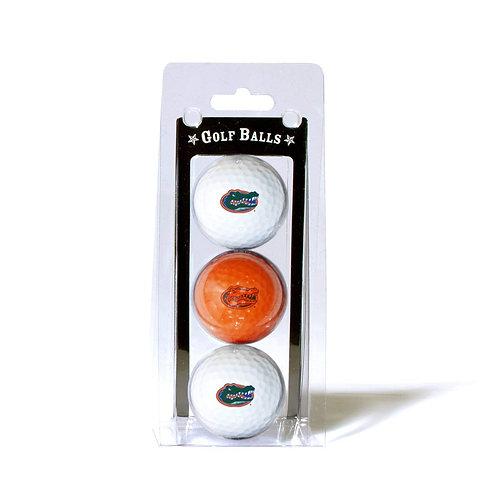 Florida Gators Golf Balls 3 Pack
