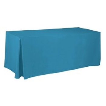 6' Non-Printed / Blank Fitted Tablecloth