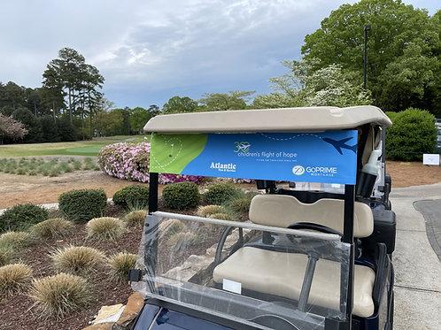 Golf Cart Banner Wrap