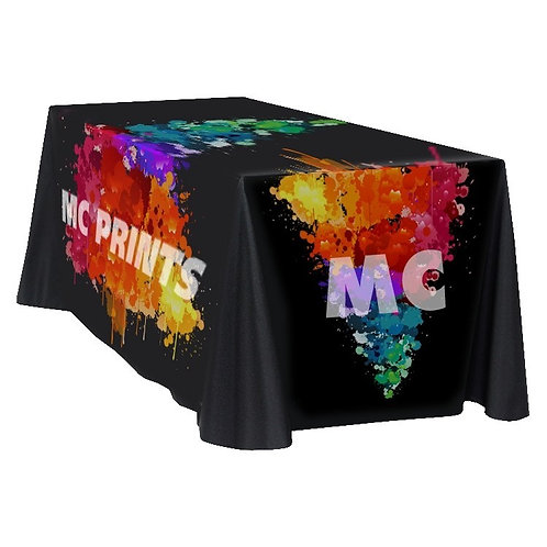 Fully Dye Sublimated Supreme Table Throw