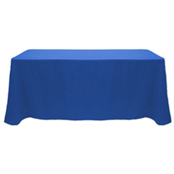 8' Non-Printed / Blank Table Throws