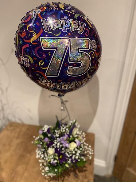 75th Birthday Arrangement