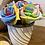 Thumbnail: Faux rainbow flowers