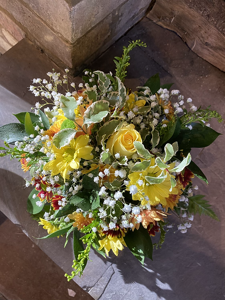 Small Afternoon Tea Posy