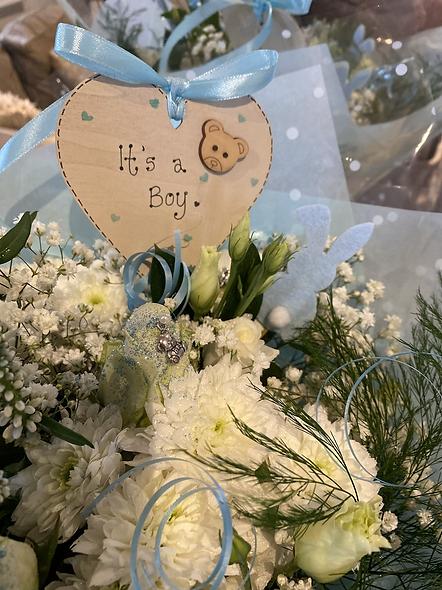 Baby Gender Reveal Bouquet