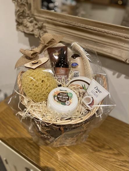 Coconut gift basket