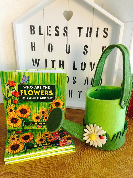 A Friendship gift book: Who are the flowers in your garden?