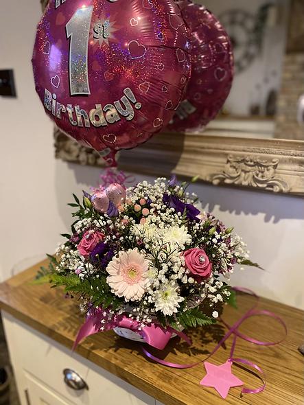 1st Birthday Arrangement