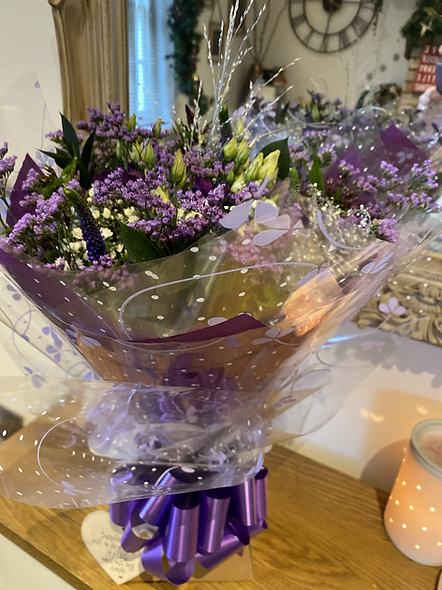 Beautiful boxed Bouquet