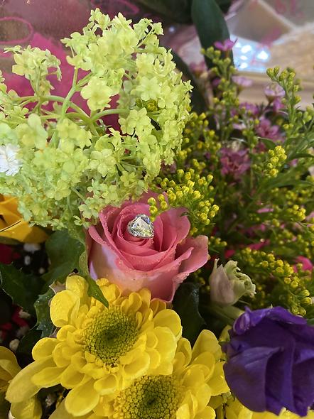 Pretty colourful bouquet