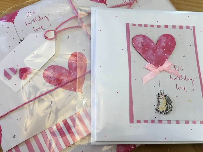 Card and gift wrap