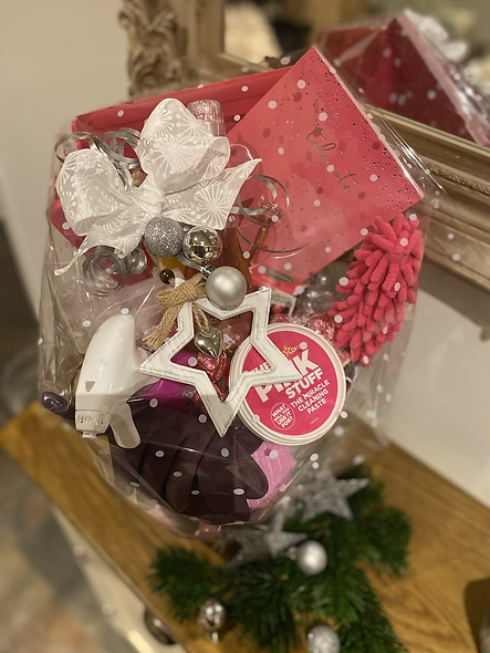 Mrs Hinch style gift basket