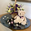Thumbnail: Flower girl basket and thank you teddy