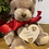 Thumbnail: Teddy  with personised plaque
