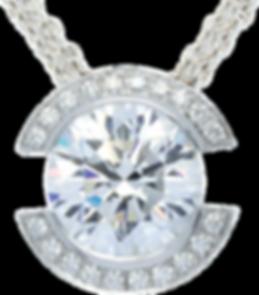 Diamant Anhänger Halo