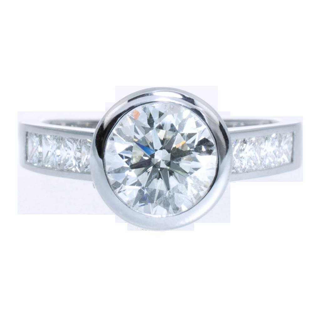 Verlobungsring Diamant Solitaire
