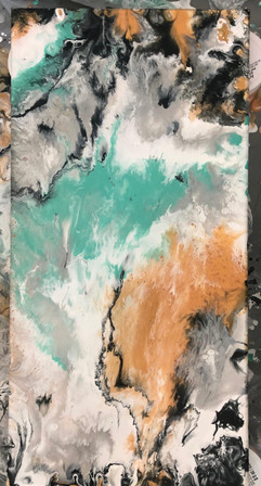 Marble With Green 1