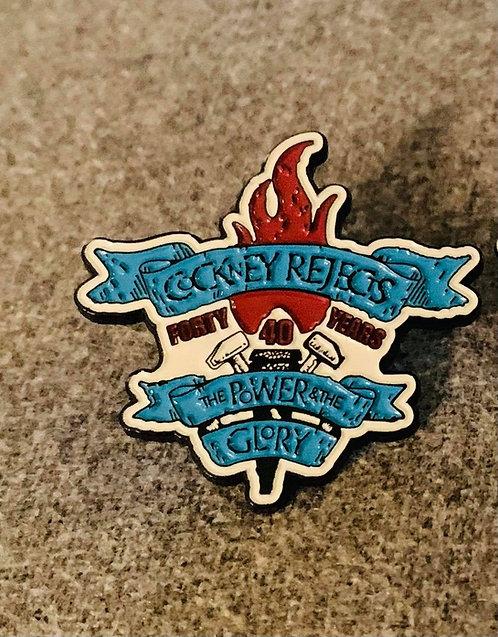 Power & Glory Enamel Badge