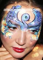 Swan face painting w_logo.jpg
